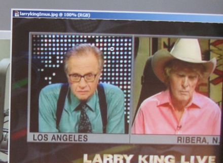 Din IUmus and Larry King