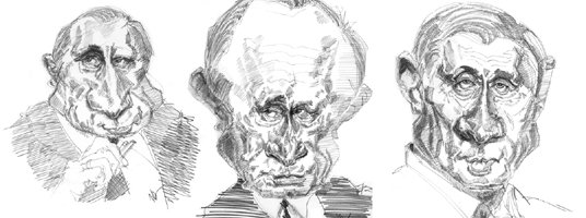 Caricatures What Makes President Vladimir Putin Caricaturable
